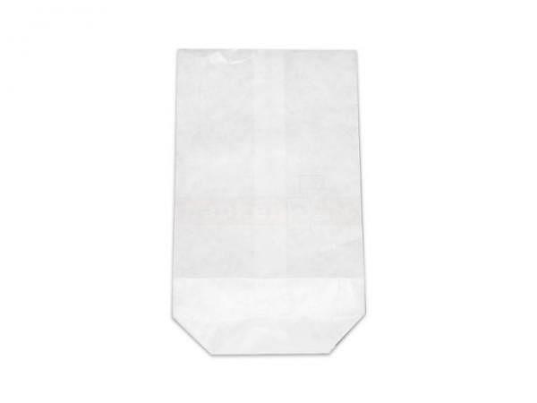 Bodenbeutel Papier Natronkraft weiss 28x45cm