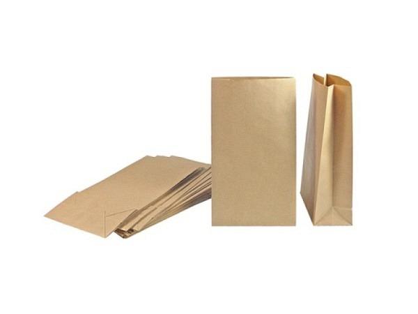Bodenbeutel Zischka Kristall Winter Wonderland braun 16x26x8cm