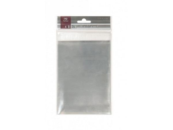 Flachbeutel Artoz mit Klebeverschluss B6 131x178mm 40Stk