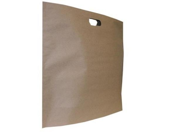 Tragtasche Papier braun Take-away 27x29cm<br>