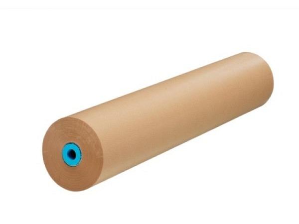 Packpapier Kraftpack 75cmx250m 70g/qm, gerippt braun