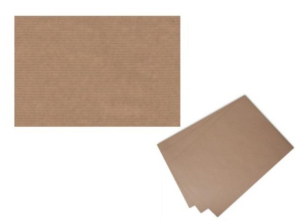Packpapier Kraftpack 120g/qm 90x120cm braun