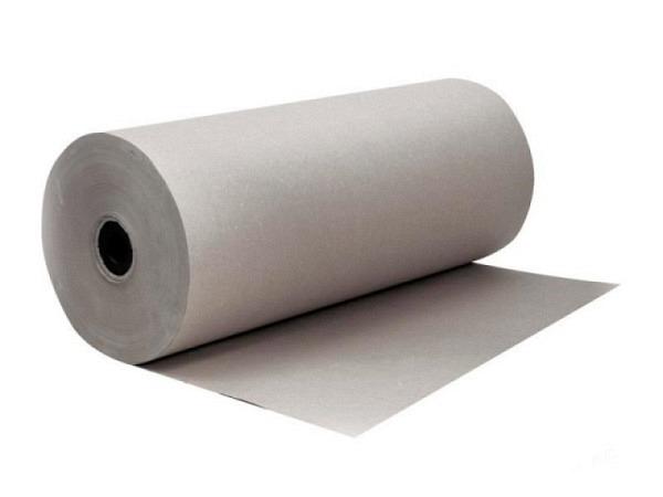 Packpapier Grau 60g 60cmx380m 14kg einseitig glatt