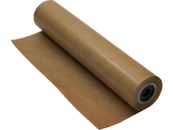 Packpapier Kraftpack 75cmx25m Rolle leicht gerippt