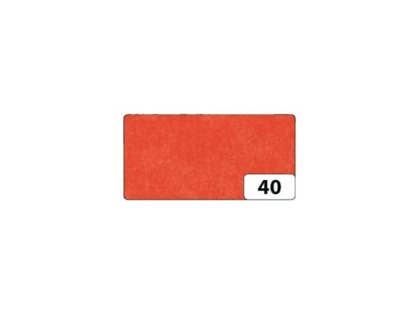 Seidenpapier Folia gefalzt 13 Bogen orange, 50x70cm