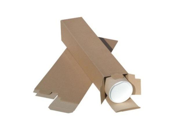 Versandhülle Vierkant braun 74,5cmx10,5cmx10,5cm postkonform