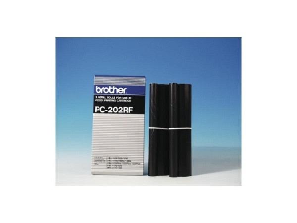 Toner Brother PC-202 2 Nachfüllrollen zu PC-201