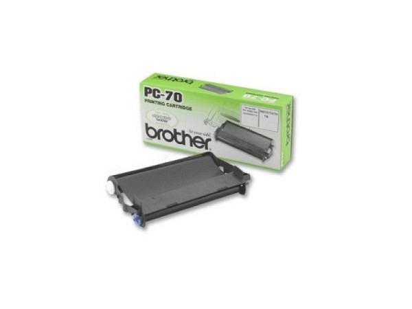 Toner Brother PC-70 Druckkass. inkl. 1 Filmrolle