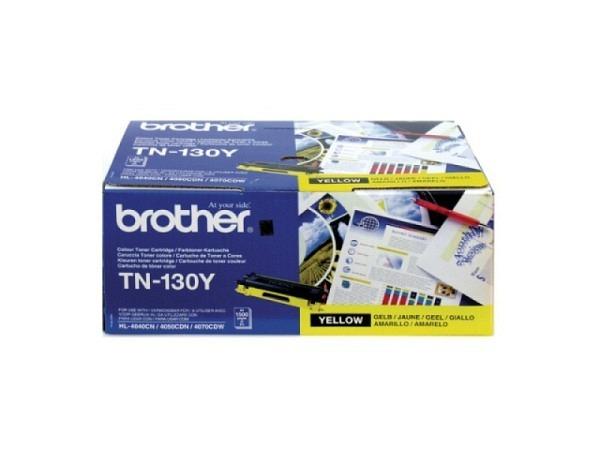 Toner Brother TN-130Y yellow für HL-4040/4070 1500 Seiten