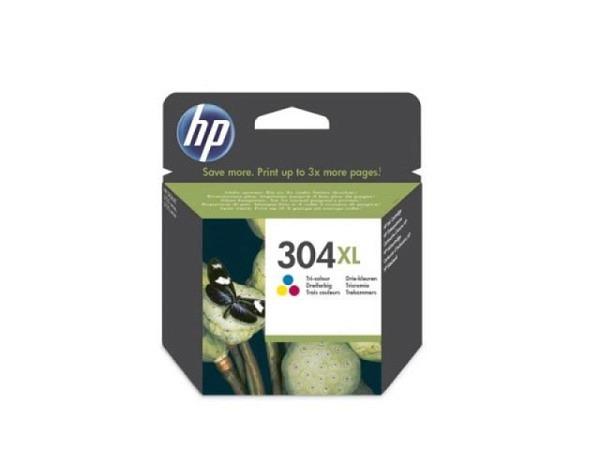 Druckerpatrone HP 304XL color N9K07AE DeskJet 3720/30 300 Seiten