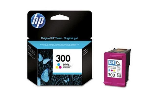 Druckerpatrone HP CC643EE farbig Nr. 300 für 165 Seiten