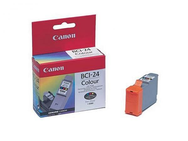 Druckerpatrone Canon BCI-24C farbig f. S200/S300
