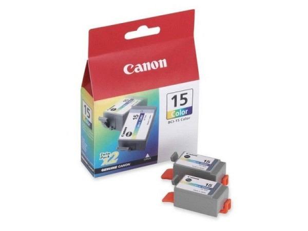 Druckerpatrone Canon BCI-15CL farbig 2Stk.