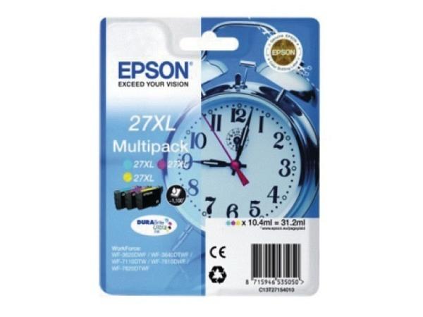 Drckerpatrone Epson T271540 Multipack Tinte XL CMY, 1100 Seiten