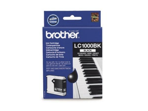Druckerpatrone Brother LC-1000BK Black, 500 Seiten