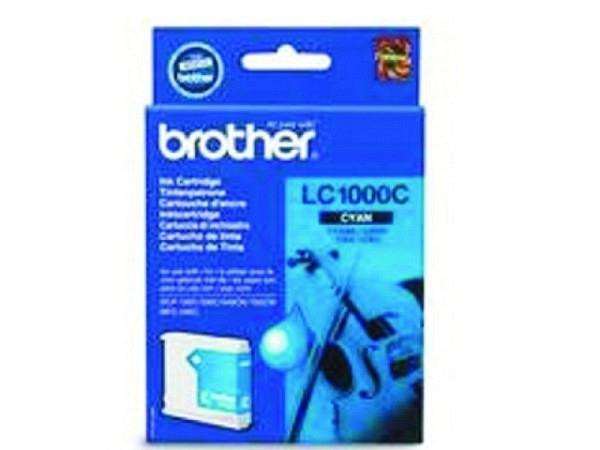 Druckerpatrone Brother LC-1000C cyan, 400 Seiten