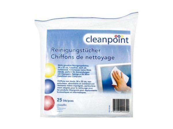 Reinigungstücher Cleanpoint 25Stk. 34x32cm
