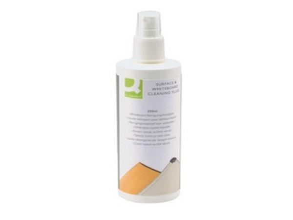Reinigungsspray Q-Connect 250ml, für Weisswandtafeln zum Entfernen v..
