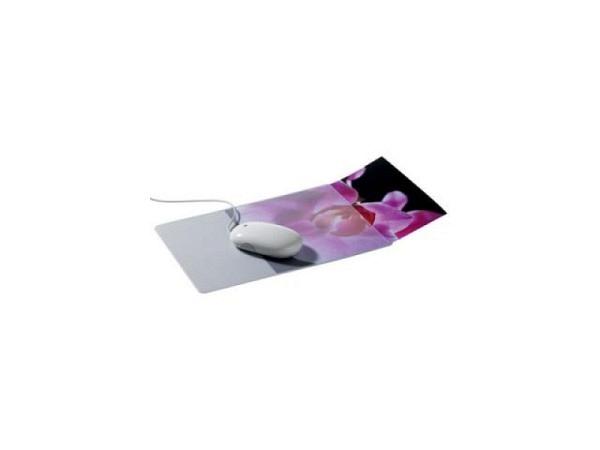 Mausmatte Durable extraflach, transparent, mit Einschub