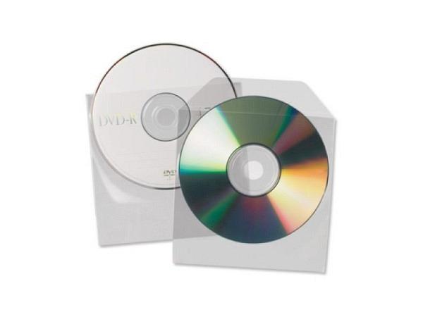 CD Hülle 3L transparent selbstklebend 100Stk