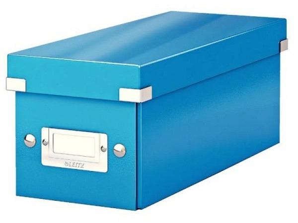 CD Ablage Box Leitz Wow Click & Store blau