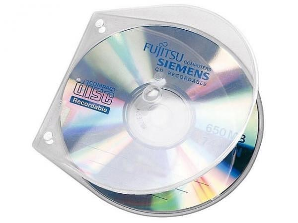 CD Hülle Veloflex Velobox 10Stk. transparent