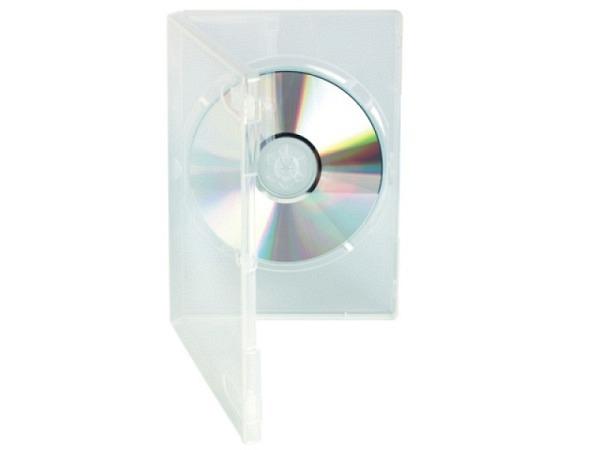 CD Hülle transparent Slim-Case für DVD