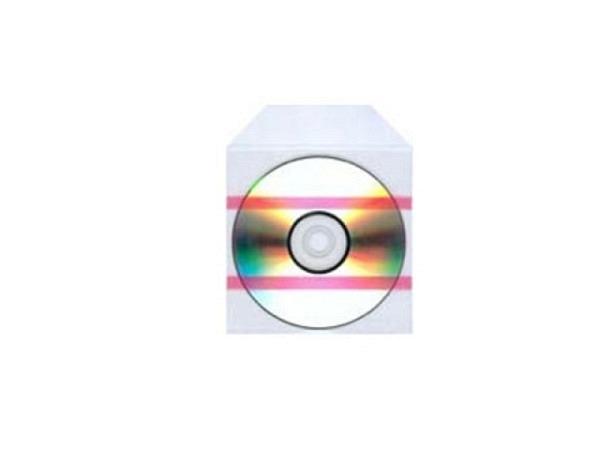 CD Hülle aus Weichplastik, extradünn oben offen, transparent