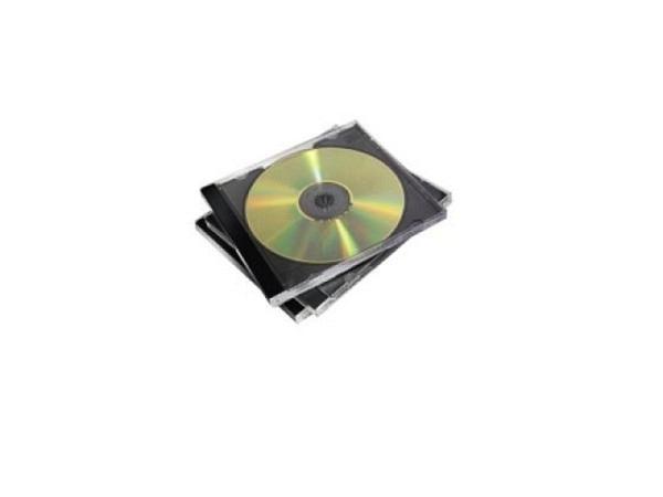 CD Hülle Fellowes Jewel Case 5Stk. schwarz für 2CDs