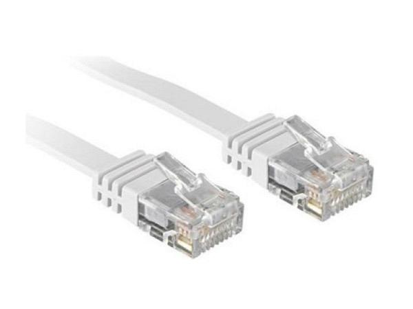 Kabel Link2Go Netzwerkkabel Cat. 6, flach, 0,5m lang