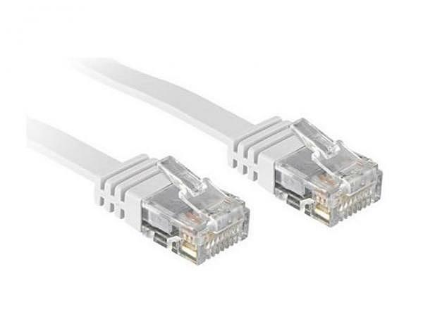 Kabel Link2Go Netzwerkkabel Cat. 6, flach, 1m lang