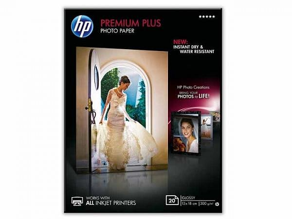 Papier HP Premium Plus Glossy Inkjet A4 300g/qm, CR674A