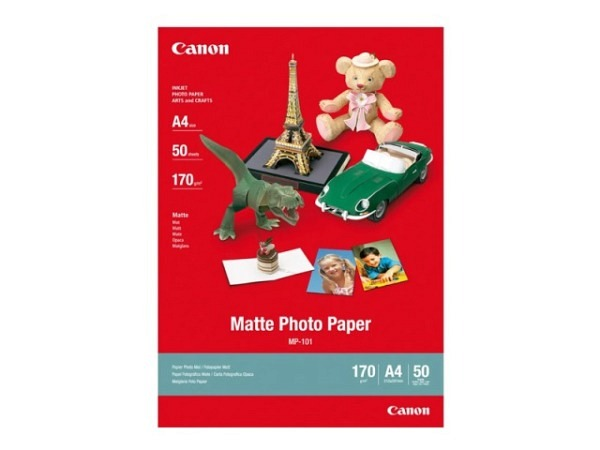 Papier Canon Matte Photo Paper 170g/qm A4, 50 Blatt matt