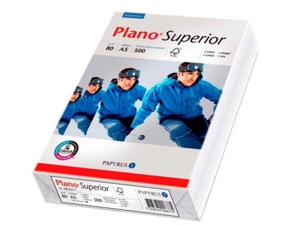 Papier Plano Superior A5 80g/qm 500Blatt hochweiss