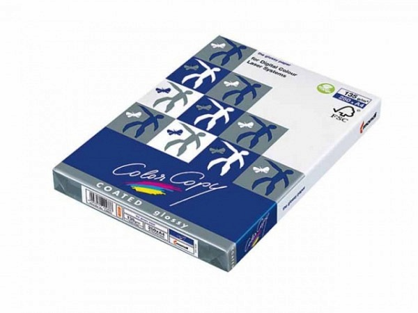 Papier Color Copy Coated Glossy 135g/qm A3