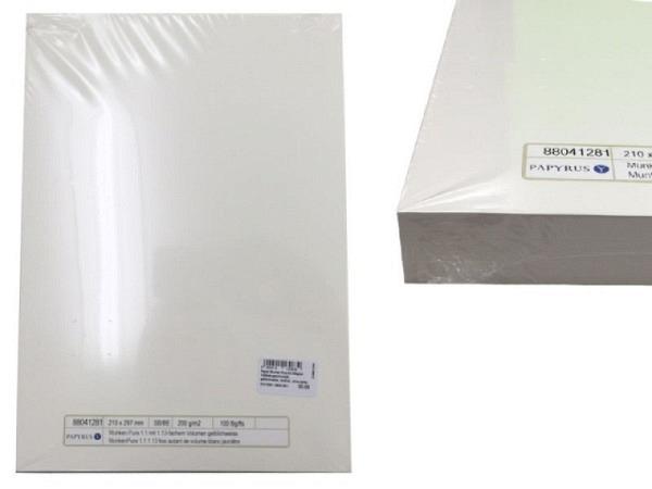 Papier Munken Pure A4 200g/qm 100Blatt geschrumpft