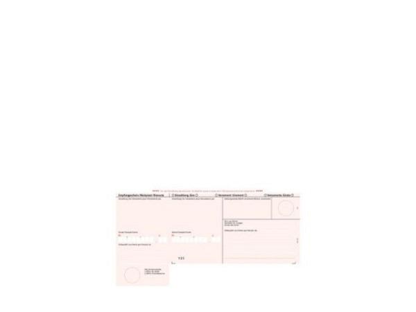Einzahlungsscheine Simfacture A4, 90g/qm