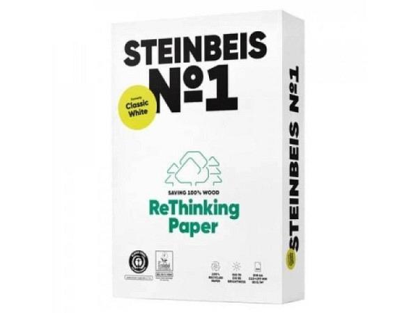 Papier Steinbeis Recycling 80g/qm 500Blatt ISO 70