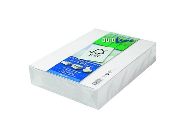 Papier Büroline weiss A4 80g/qm 500Blatt, hochweiss, Kopierpapier