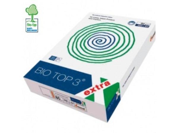 Papier Biotop 3 A3 80g/qm naturweiss holzfrei, chlorfrei 500Blatt