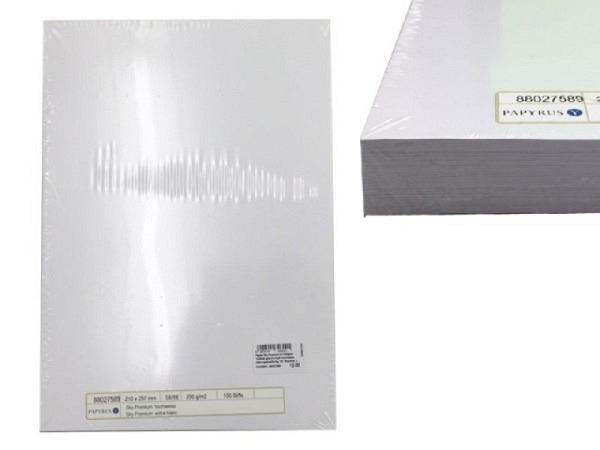 Papier Sky Premium A4 160g/qm 100Blatt geschrumpft hochweiss