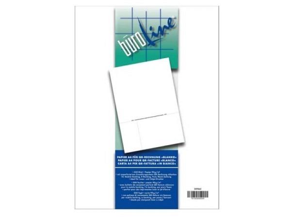 Einzahlungsscheine Büroline A4 500 Blatt 90 g/qm, orange