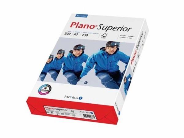Papier Papyrus Plano Superior A3 weiss 200g 250 Blatt