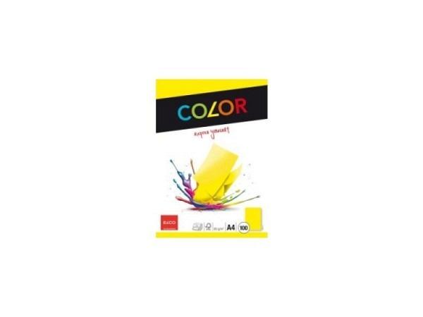 Papier Elco Color intensivgelb 80g/qm