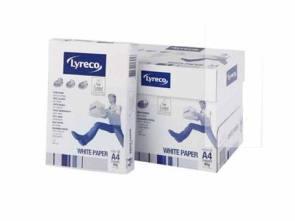 Papier Lyreco 80g/qm A4 weiss 500Blatt