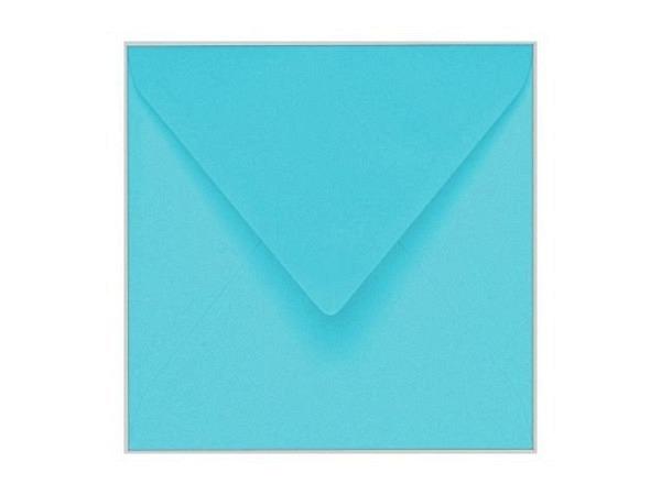 Couverts Artoz 13,5x13,5cm azurblau mit Spitzverschluss 100g
