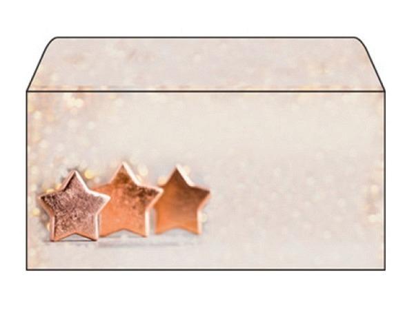 Couverts Sigel Weihnachten Copper Glance C6/5 22,3x11,4cm 50Stk.