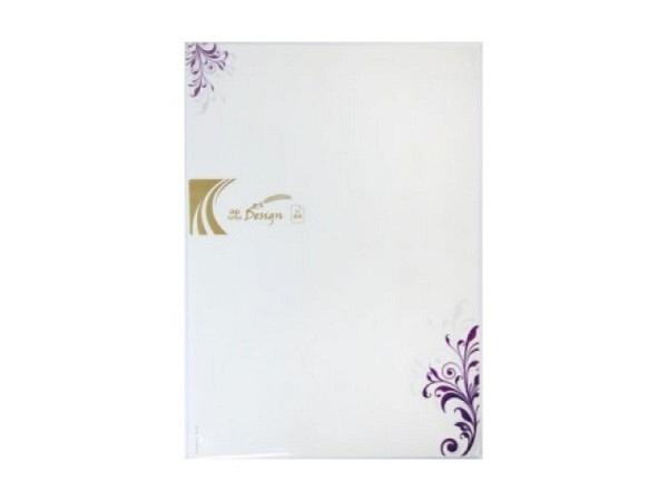 Papier Artoz Design Ornament violett 5 Bogen A4 90g/qm