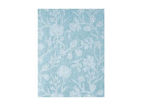 Japanpapier Artoz A4 Blumen Glitter auf hellblau