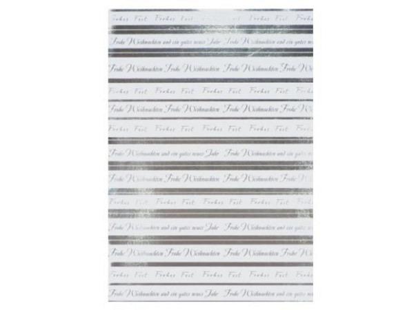Papier Artoz Creamotion 21x30cm Frohe Weihnachten silber